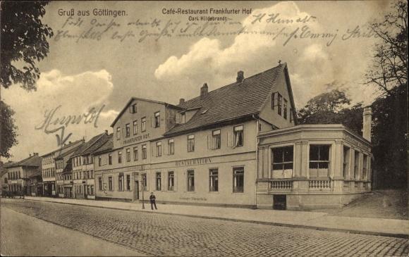 Göttingen Frankfurter Hof 1910